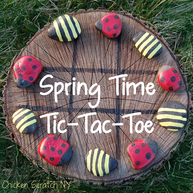 Spring Time Tic-Tac-Toe